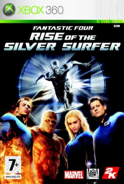Fantastic Four: Rise of the Silver Surfer for Xbox 360