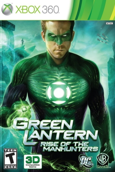 Green Lantern: Rise Of The Manhunters for Xbox 360