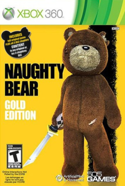 Naughty Bear for Xbox 360