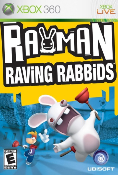 Rayman Raving Rabbids for Xbox 360